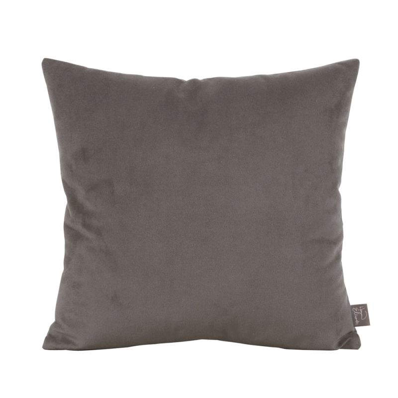 Howard Elliott 1-225 16 X 16 Square Pillow Bella Pewter Home Decor