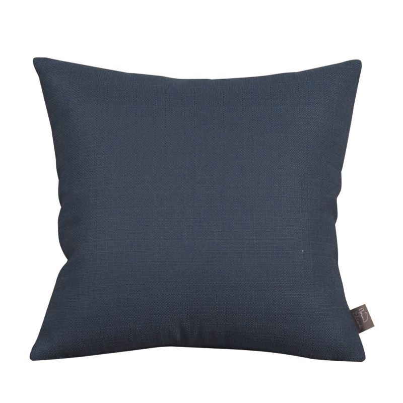 Howard Elliott 1-230 16 X 16 Square Pillow Sterling Indigo Home Decor