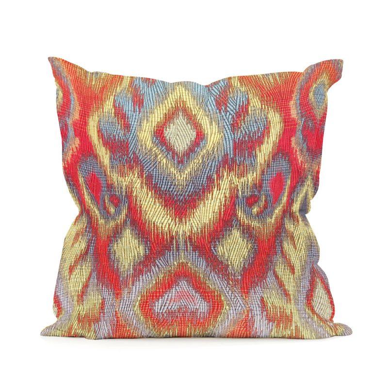 Howard Elliott 1-233 16 X 16 Square Pillow Opal Fire Home Decor
