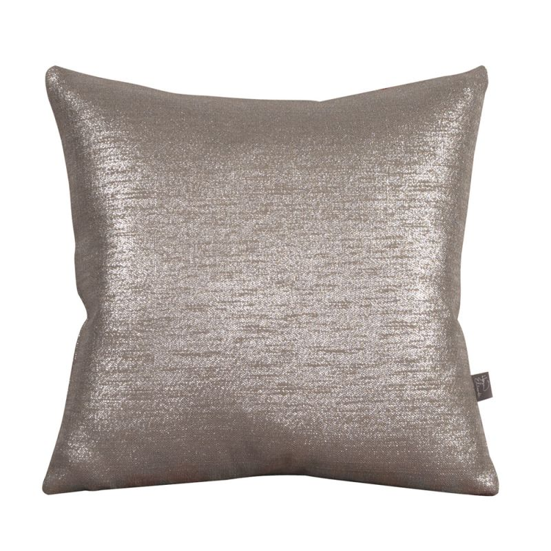 Howard Elliott 1-237 16 X 16 Square Pillow Glam Pewter Home Decor