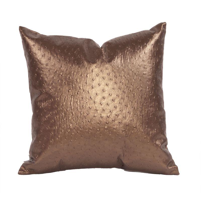 Howard Elliott 1-263 16 X 16 Square Pillow Ostrich Copper Home Decor