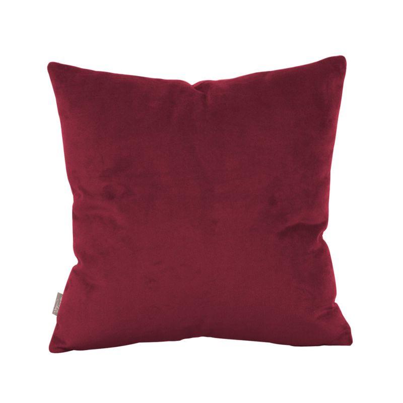 Howard Elliott 1-267 16 X 16 Square Pillow Bella Merlot Home Decor