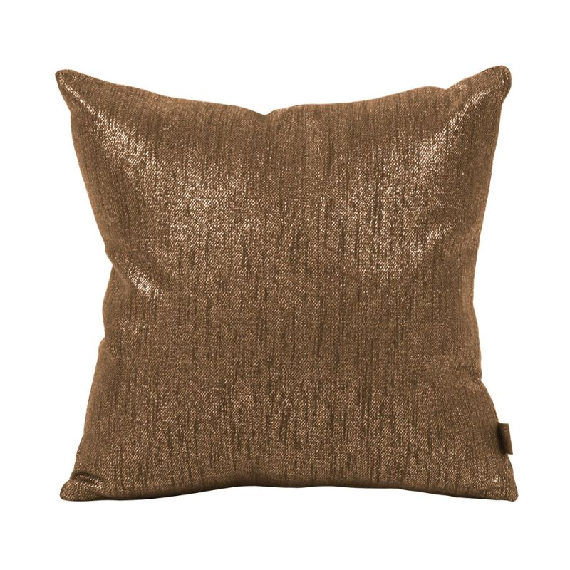 Howard Elliott 1-293 16 X 16 Square Pillow Glam Chocolate Home Decor