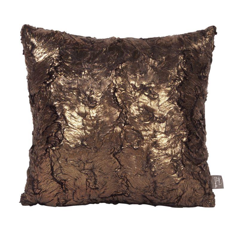 Howard Elliott 1-295 16 X 16 Square Pillow Gold Cougar Home Decor