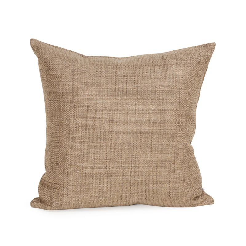 Howard Elliott 1-888 16 X 16 Square Pillow Coco Stone Home Decor
