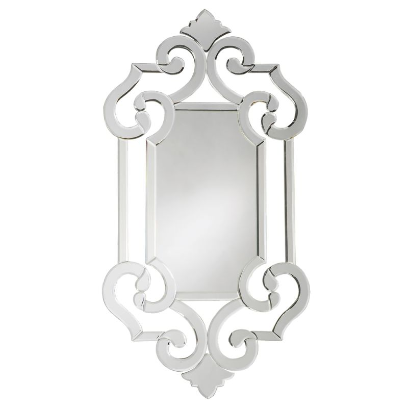 "Howard Elliott 11051 Clarice 41"" x 22"" Venetian Mirror Clear Home"