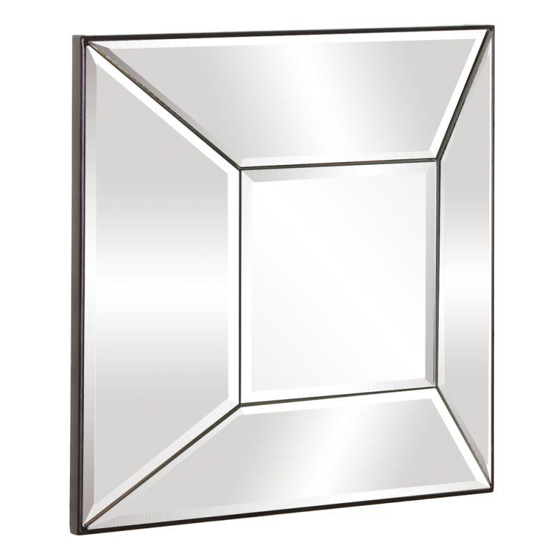 "Howard Elliott 11142 Stephen 17"" x 17"" Square Mirror Clear Home Decor"