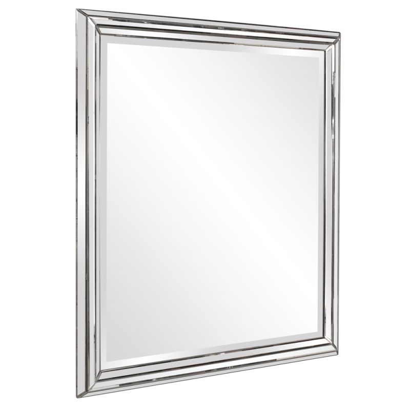"Howard Elliott 11145 Omni 48"" x 42"" Oversized Modern Mirror Clear Home"