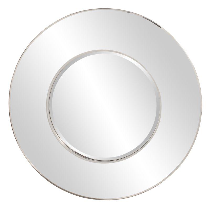 """Howard Elliott 11154 Regent 42"""" x 42"""" Round Mirror Clear Home Decor"""