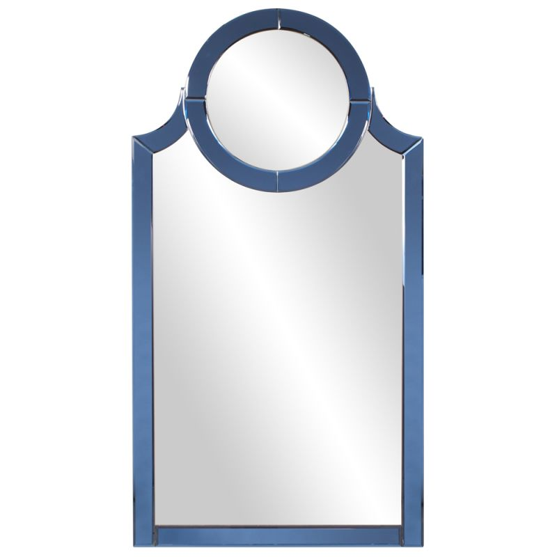 "Howard Elliott 11215 Norwalk 56"" x 30"" Cobalt Blue Mirror Blue Home"