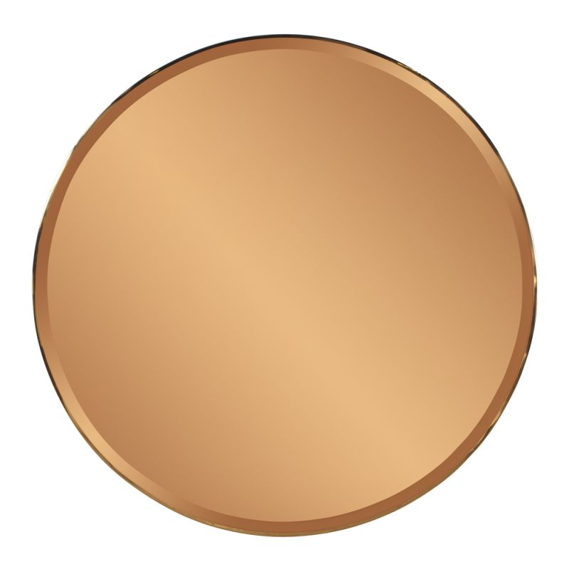 "Howard Elliott Aidan Mirror 40"" Diameter Circular Mirror from the"