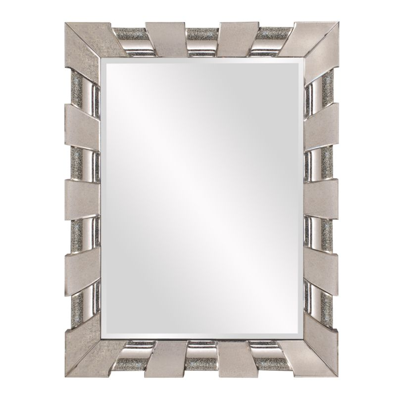 "Howard Elliott Pratt Mirror 52"" x 40.5"" Rectangular Mirror from the"