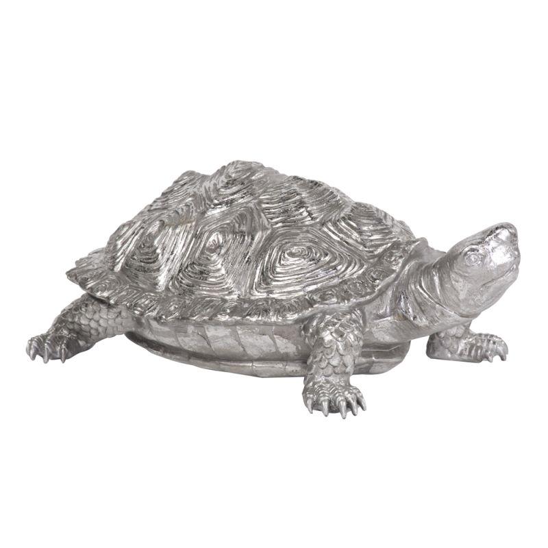 Howard Elliott 12151 Wall Art Turtle Figurine Textured Pewter Textured