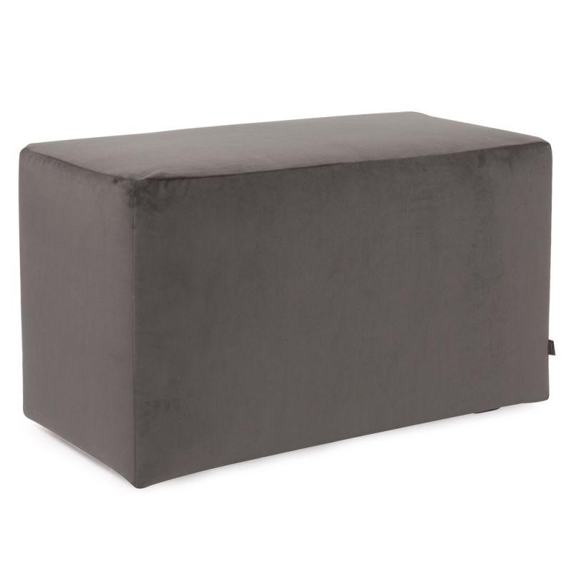 "Howard Elliott Bella Universal Bench 36"" Wide Polyester Bench Pewter"