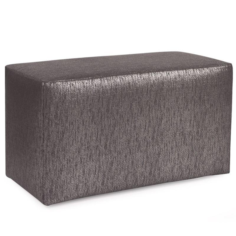 "Howard Elliott Glam Universal Bench 36"" Wide Polyester Bench Zinc"