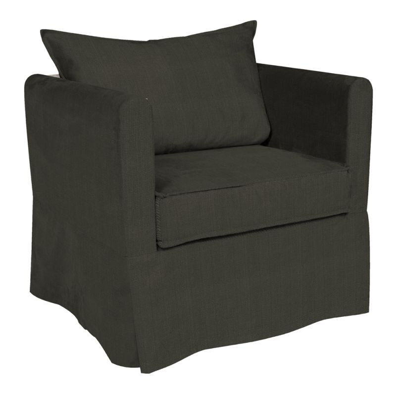 """Howard Elliott Sterling Alexandria Chair 27"""" High 100% Polyester"""