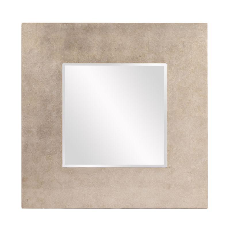 "Howard Elliott Amanda Square Mirror 40"" x 40"" Square Mirror from the"