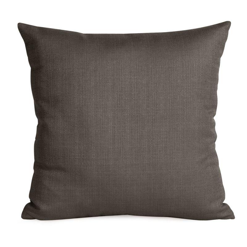 Howard Elliott 2-201 20 X 20 Square Pillow Sterling Charcoal Home