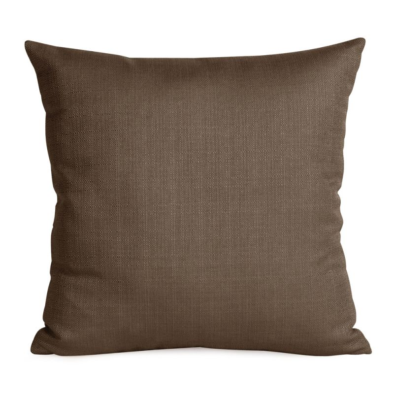 Howard Elliott 2-202 20 X 20 Square Pillow Sterling Chocolate Home