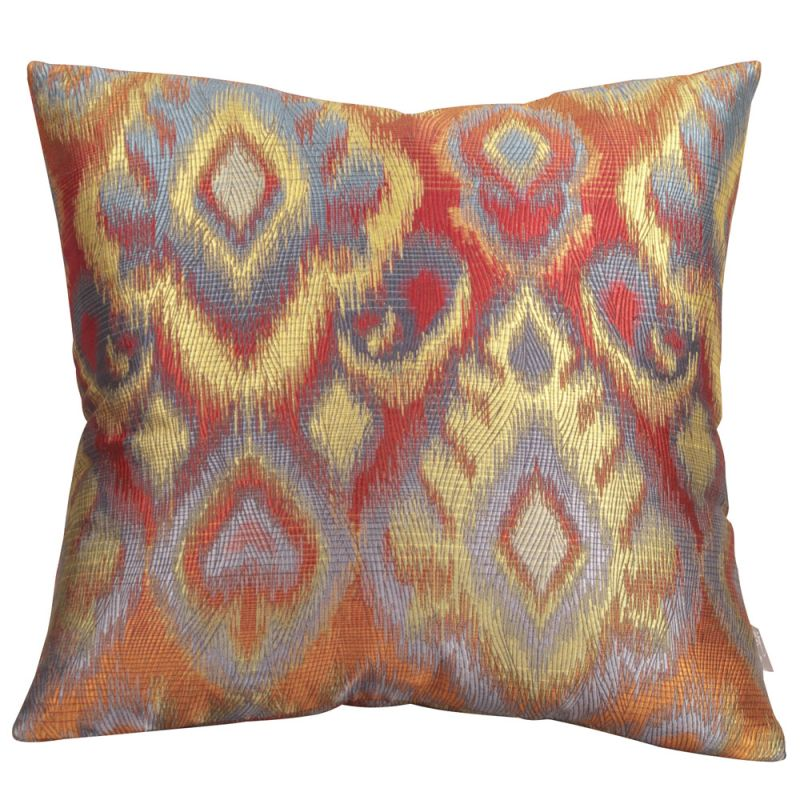 Howard Elliott 2-233 20 X 20 Square Pillow Opal Fire Home Decor