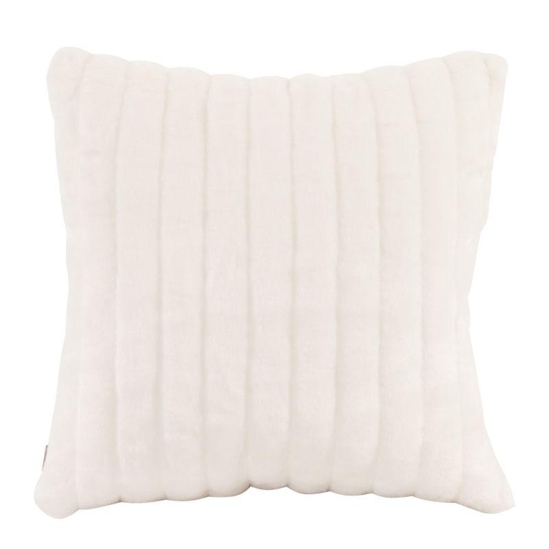 Howard Elliott 2-256 20 X 20 Square Pillow Mink Snow Home Decor