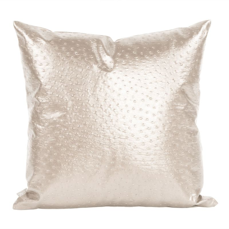 Howard Elliott 2-262 20 X 20 Square Pillow Ostrich Pearl Home Decor