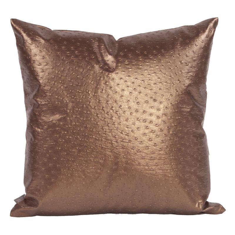 Howard Elliott 2-263 20 X 20 Square Pillow Ostrich Copper Home Decor