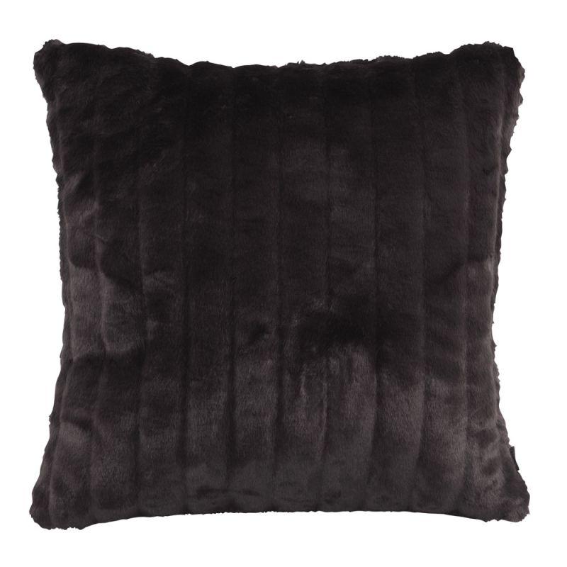 Howard Elliott 2-286 20 X 20 Square Pillow Mink Black Home Decor