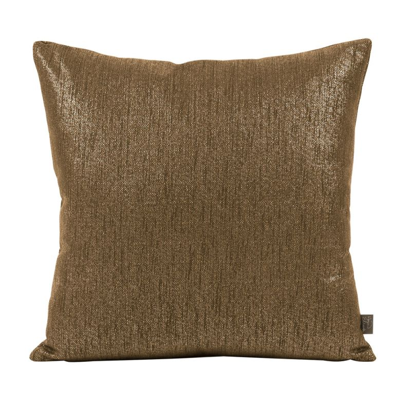 Howard Elliott 2-293 20 X 20 Square Pillow Glam Chocolate Home Decor