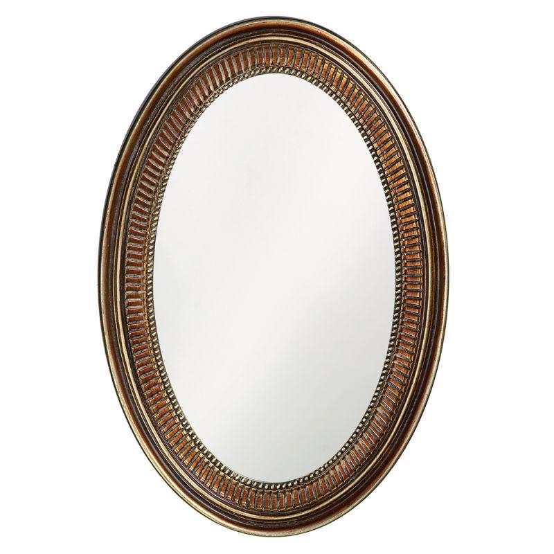 "Howard Elliott 2110 Ethan 31"" x 21"" Bronze Mirror Bronze Home Decor"