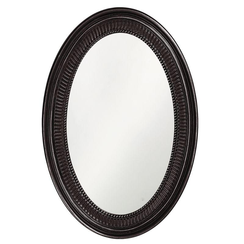 "Howard Elliott 2110BL Ethan 31"" x 21"" Black Mirror Black Home Decor Sale $209.90 ITEM#: 2700928 MODEL# :2110BL UPC#: 848635014418 :"