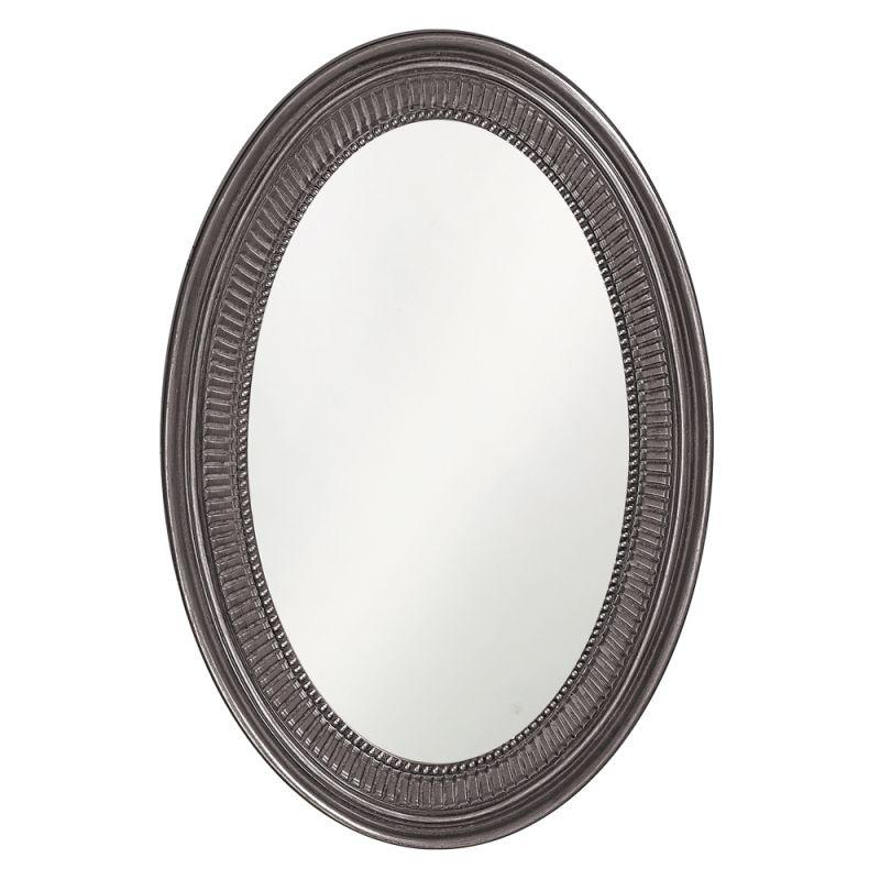 "Howard Elliott 2110CH Ethan 31"" x 21"" Glossy Charcoal gray Mirror Sale $209.90 ITEM#: 2700929 MODEL# :2110CH UPC#: 848635046945 :"