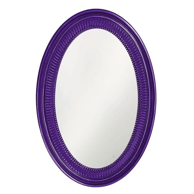 "Howard Elliott 2110RP Ethan 31"" x 21"" Royal Purple Mirror Royal Purple Sale $209.90 ITEM#: 2700938 MODEL# :2110RP UPC#: 848635014432 :"