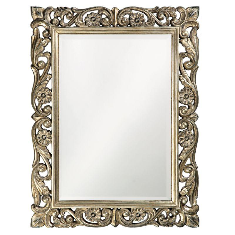 "Howard Elliott 2113 Chateau 42"" x 31.5"" Mirror Antique Pewter Home"