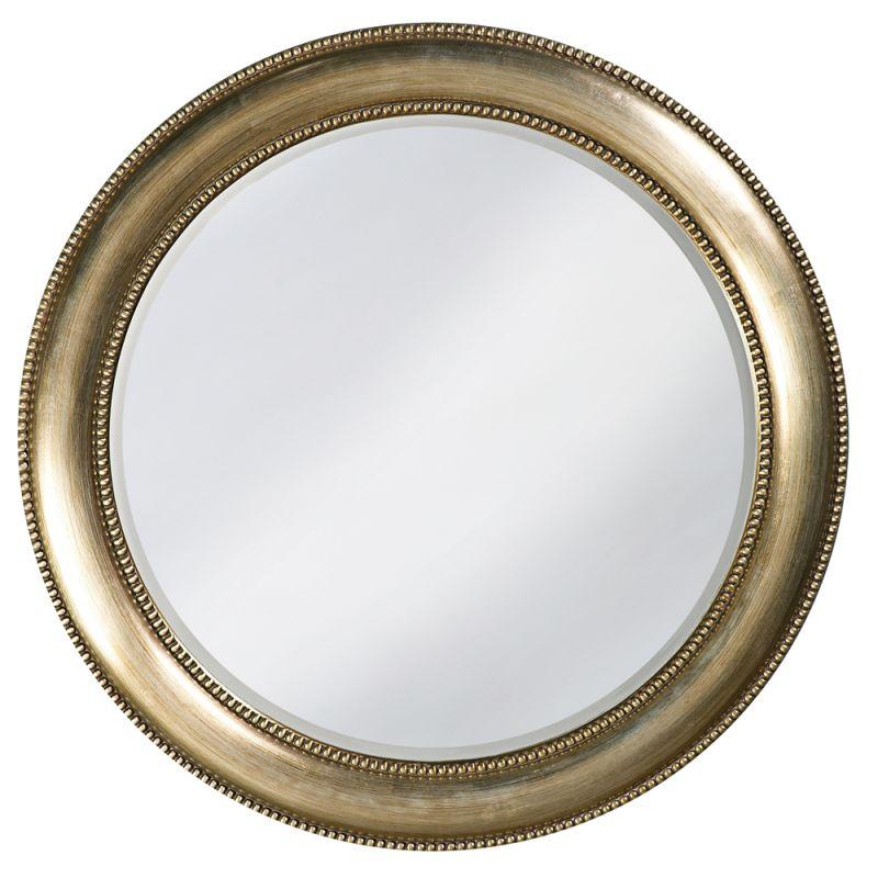 "Howard Elliott 2118 Saturn 40"" x 40"" Burnished Silver Mirror Burnished"