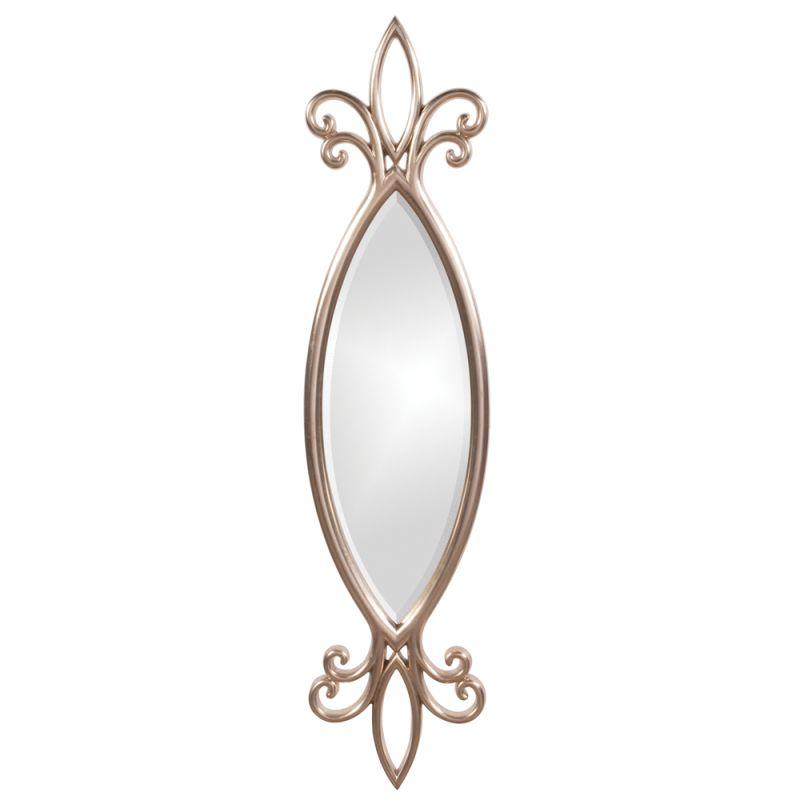 """Howard Elliott 21180 Hillary 44"""" x 10"""" Silver Leaf Mirror Silver Leaf Sale $149.90 ITEM#: 2700494 MODEL# :21180 UPC#: 848635000701 :"""