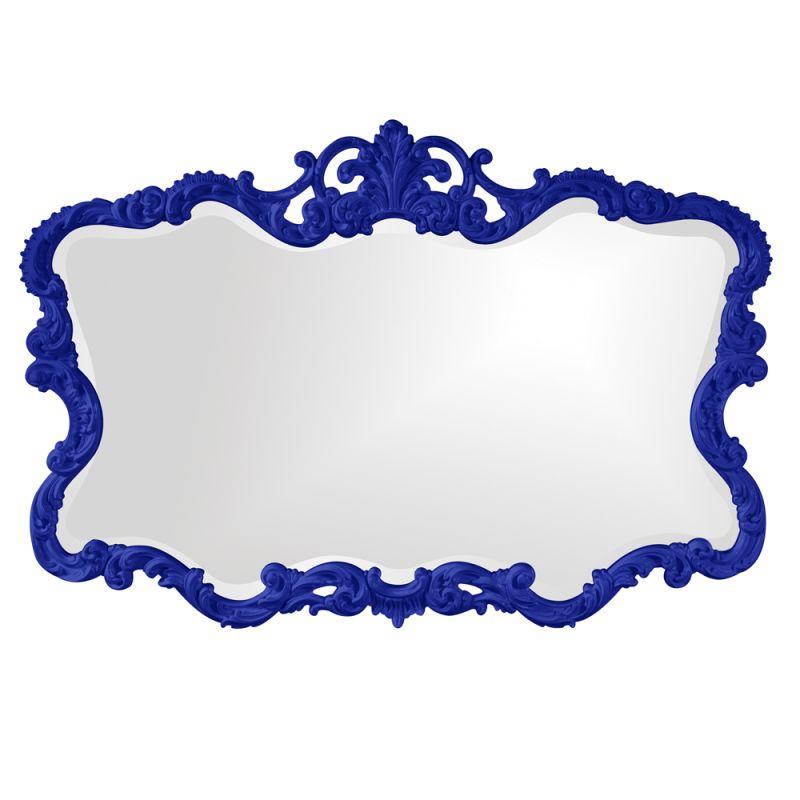 "Howard Elliott 21183RB Talida 38"" x 27"" Royal Blue Mirror Royal Blue"