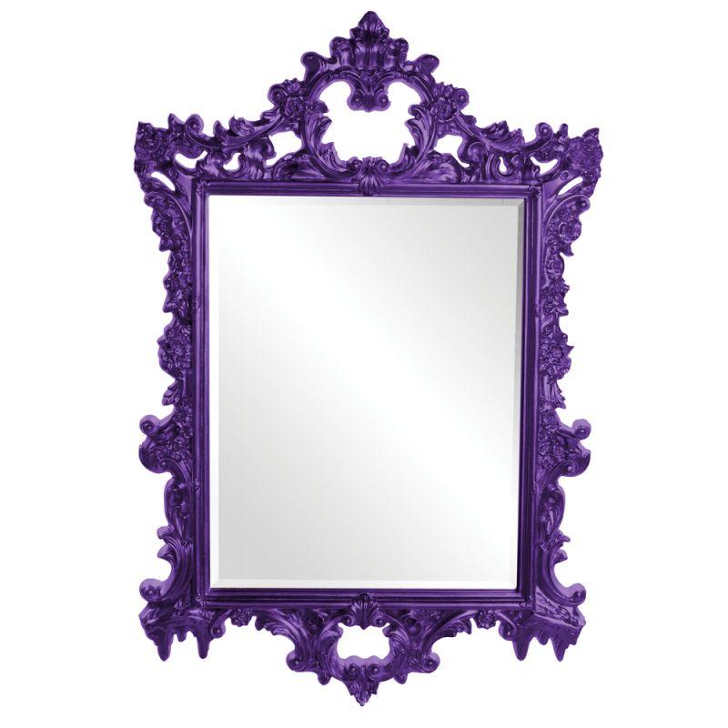 "Howard Elliott 21197RP Sherman 47"" x 31"" Royal Purple Mirror Royal Sale $409.90 ITEM#: 2701028 MODEL# :21197RP UPC#: 848635015422 :"