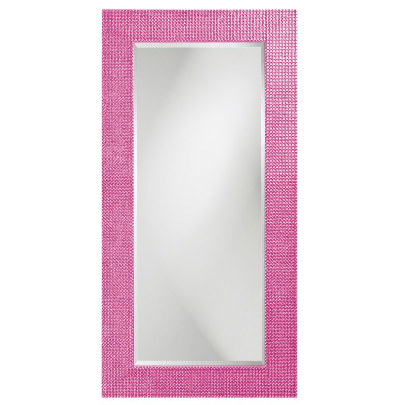 "Howard Elliott 2142HP Lancelot 60"" x 30"" Rectangle Glossy Hot Pink"