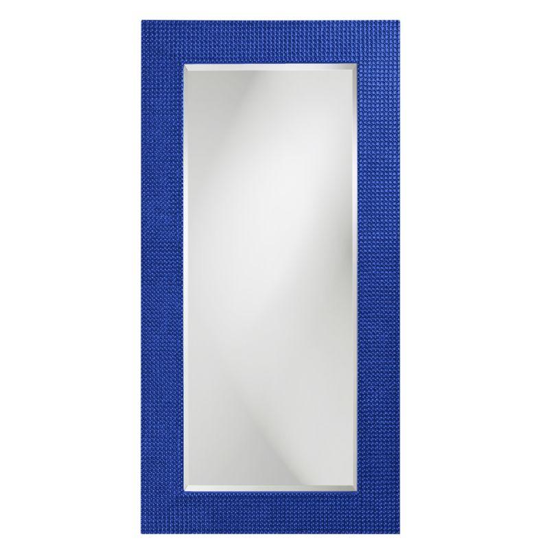 "Howard Elliott 2142RB Lancelot 60"" x 30"" Royal Blue Rectangle Mirror"
