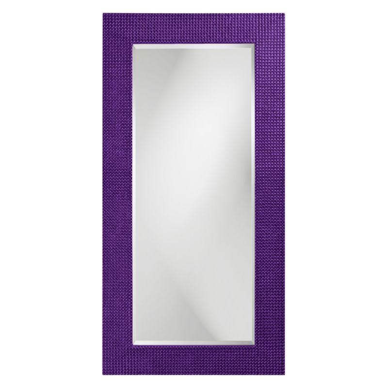 "Howard Elliott 2142RP Lancelot 60"" x 30"" Royal Purple Rectangle Mirror"