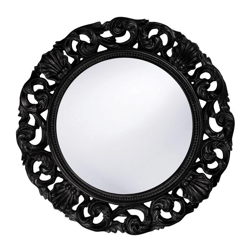 "Howard Elliott 2170BL Glendale 26"" x 26"" Black Mirror Black Home Decor Sale $209.90 ITEM#: 2700073 MODEL# :2170BL UPC#: 848635016122 :"