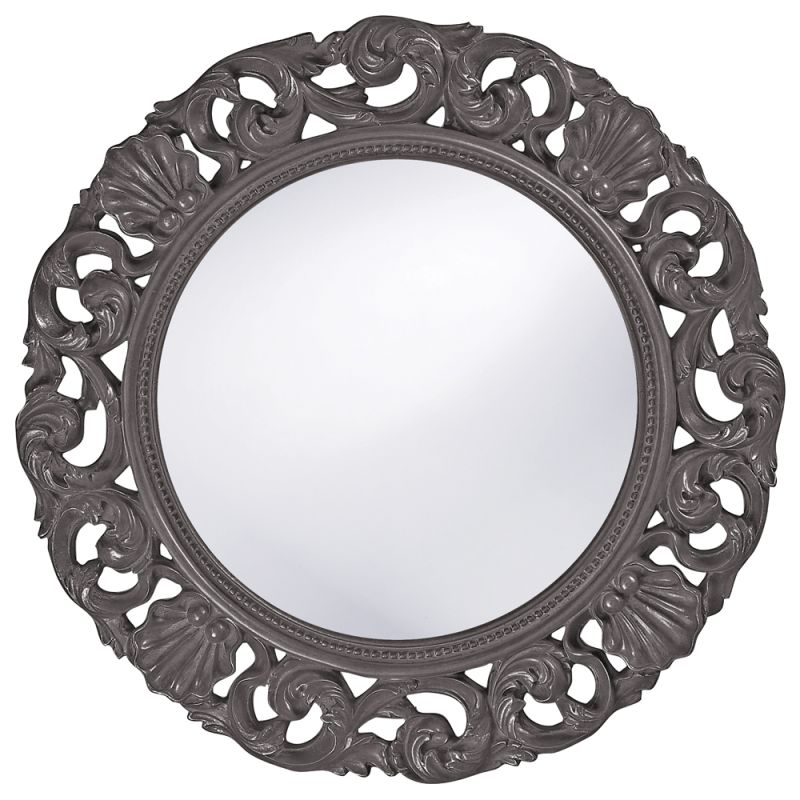 "Howard Elliott 2170CH Glendale 26"" x 26"" Charcoal Gray Mirror Charcoal"