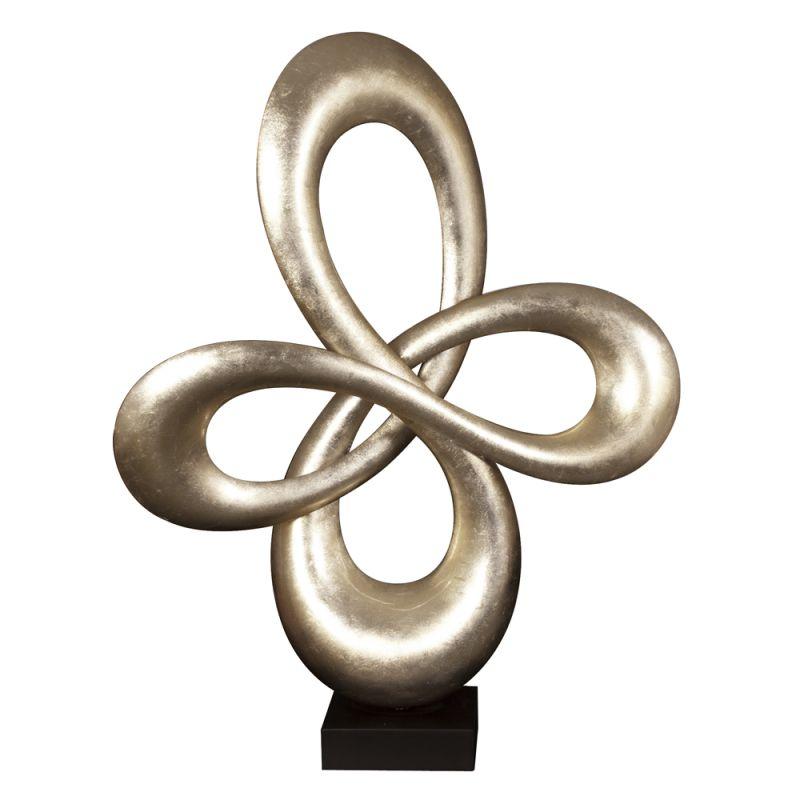 "Howard Elliott Abstract Infinity Sculpture 34"" Tall Abstract Sculpture"
