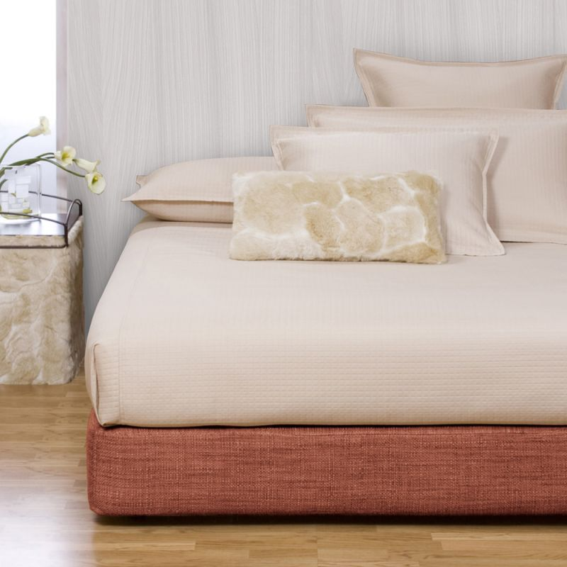 Howard Elliott 242-885 Coco 10 X 53 Queen Boxspring Cover Coral