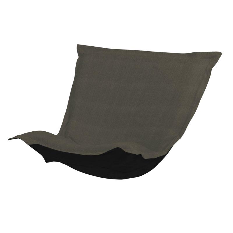 Howard Elliott 300-201P Sterling 40 X 49 Puff Chair Cushion Charcoal