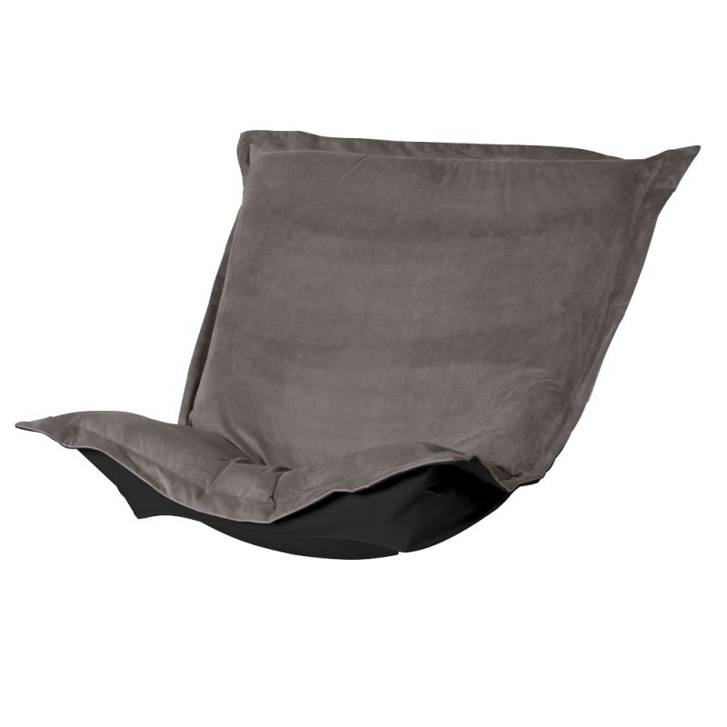 Howard Elliott 300-225P Bella 40 X 49 Puff Chair Cushion Pewter