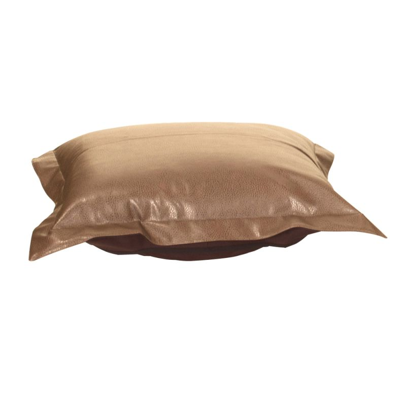 Howard Elliott 310-191P Avanti 24 X 24 Puff Ottoman Cushion Bronze
