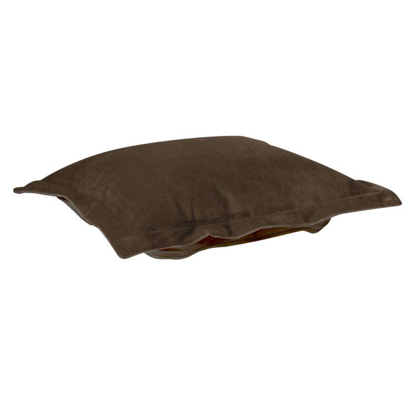Howard Elliott 310-220P Bella 24 X 24 Puff Ottoman Cushion Brown Home