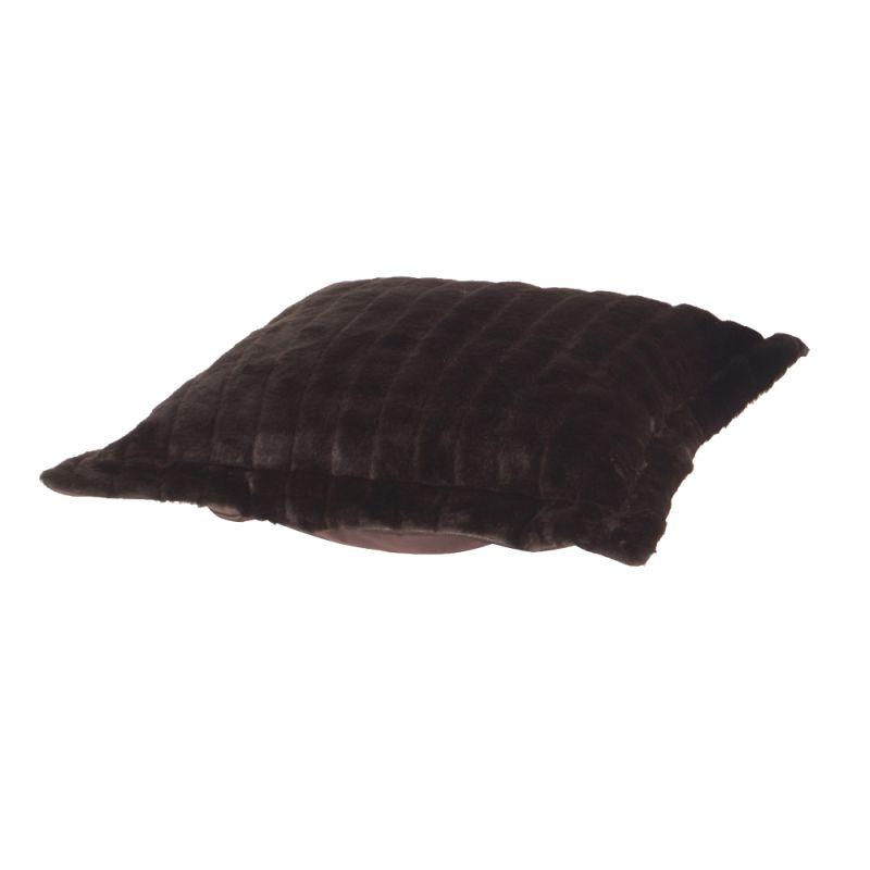 Howard Elliott 310-285P Mink 24 X 24 Puff Ottoman Cushion Brown Home